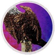 Eagle Of Wwi Round Beach Towel