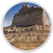 Eagle Rock Round Beach Towel