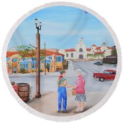 Eagle Scout Round Beach Towel