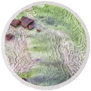 Earth Art 9493 Round Beach Towel