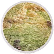 Earth Art 9509 Round Beach Towel