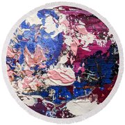 Earth, As Is 3 Round Beach Towel