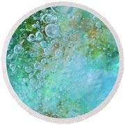 Earth Bubble Round Beach Towel