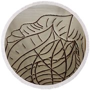 Earth Dreams  - Tile Round Beach Towel