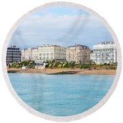 Eastbourne 1 Round Beach Towel