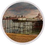 Eastbourne Pier Round Beach Towel