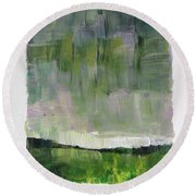 Easter Day Round Beach Towel
