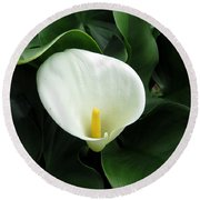 Easter Lily 2 Round Beach Towel