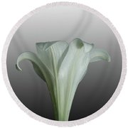 Easter Lily #2 Round Beach Towel