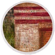 Easter Rising Round Beach Towel