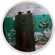 Eastern State Penitentiary 16 Round Beach Towel