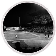 Ebbets Field, 1957 Round Beach Towel