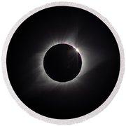 Eclipse 2017 Round Beach Towel
