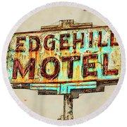 Edgehill Sketched Round Beach Towel