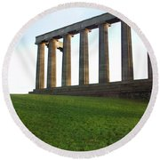 Edinburgh - Caption Hill Round Beach Towel