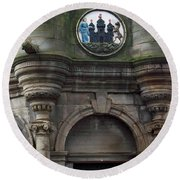 Edinburgh Church Round Beach Towel