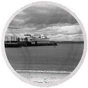 Edmonds Ferry Round Beach Towel