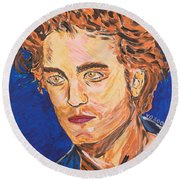 Edward Cullen Round Beach Towel