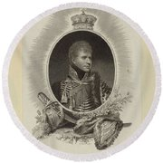 Edward Scriven 1775-1841 His Royal Highness The Duke Of Cumberland. 1807 Round Beach Towel