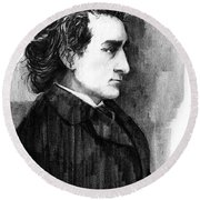Edwin Booth Round Beach Towel