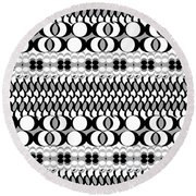 Egg Basket Round Beach Towel