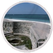 Egmont Key Round Beach Towel
