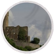 Ehrenfels Castle 03 Round Beach Towel