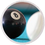 Eightball Round Beach Towel