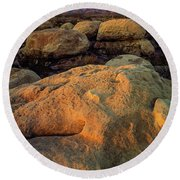 El Capitan Texas Round Beach Towel