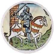 El Cid Campeador (1040?-1099) Round Beach Towel