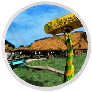 El Dorado Round Beach Towel