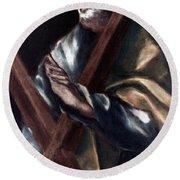 El Greco: St. Andrew Round Beach Towel