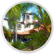 El Presidio Round Beach Towel