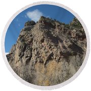 Eldorado Canyon Hill Round Beach Towel