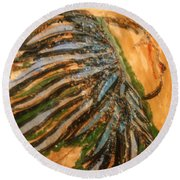 Eleanora - Tile Round Beach Towel