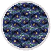 Electric Fence Round Beach Towel