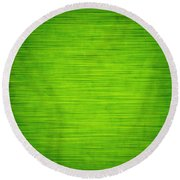 Elegant Green Abstract Background Round Beach Towel