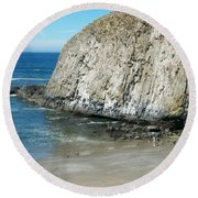 Elephant Rock Round Beach Towel