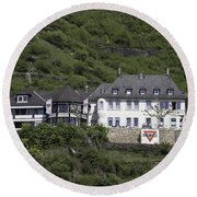 Elsenburg Haus Ymca Round Beach Towel