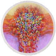 Embodiment Round Beach Towel