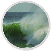 Emerald Waters Round Beach Towel