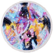 Emergent Round Beach Towel