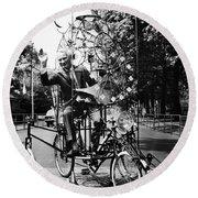 Emett: Lunacycle, 1970 Round Beach Towel