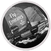 Emirates Team New Zealand Round Beach Towel