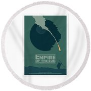 Empire Of The Sun Round Beach Towel
