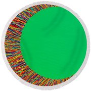 Empty Cup 1 Round Beach Towel