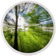 Enchanted Forest 5 Round Beach Towel