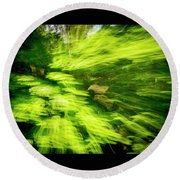 Enchanted Forest 6 Round Beach Towel