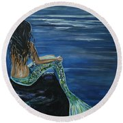 Enchanted Mermaid Round Beach Towel