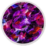 Enchanted Tales Round Beach Towel
